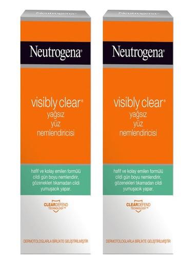 Neutrogena Neutrogena Visibly Clear Nemlendirici 50 ml x 2 Adet Renksiz
